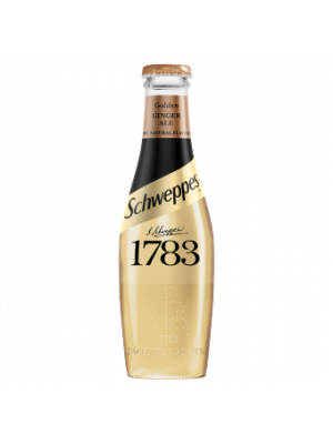 Schweppes 1783 Golden Ginger Ale 12 x 200ml