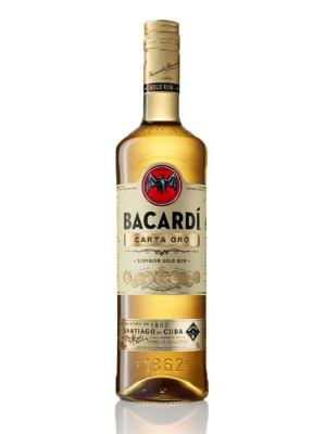 Bacardi Carta Oro (Gold) 70cl