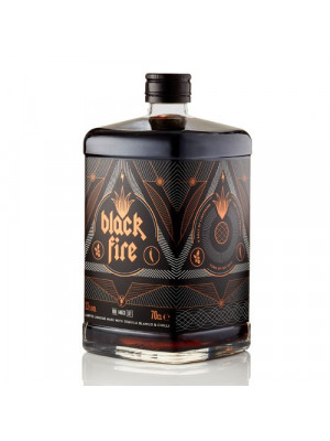 Black Fire Coffee Tequila liqueur 70cl