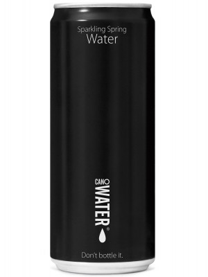 Canowater Sparkling 24x330ml Resealable Cans
