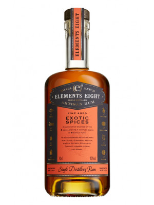 Elements 8 Spiced Rum 70cl