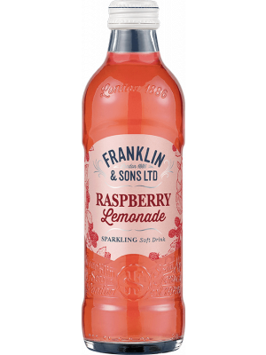 Franklin & Sons Raspberry Lemonade 12 x 275ml