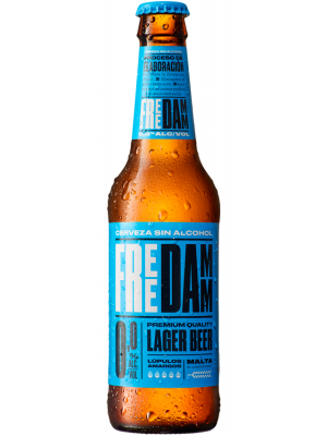 Free Damm Beer 250ml x 24