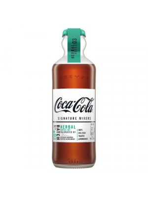 Coca Cola Herbal Signature Mixers 12 x 200ml