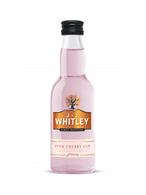 JJ Whitley Pink Cherry Gin Miniature 5cl