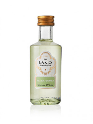 The Lakes Elderflower Gin Liqueur Miniature 5cl
