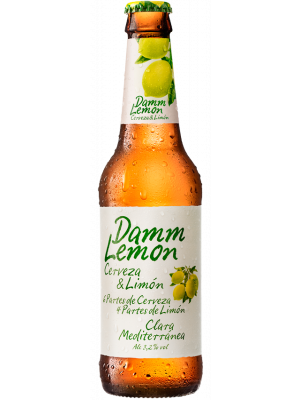 Estrella Damm Lemon Beer 330ml bottles x 24