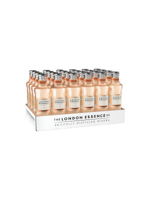 London Essence White Peach & Jasmin Soda 24 x 200ml bottles
