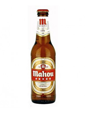 Mahou Beer 24 x 330ml