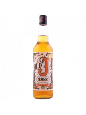 Admiral Vernons Old J Spiced Gold 70 cl