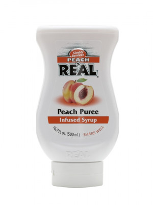 Re'al Peach Puree Infused Syrup 50cl