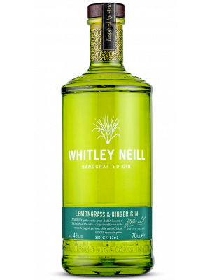 Whitley Neill Lemongrass and Ginger Gin 70cl