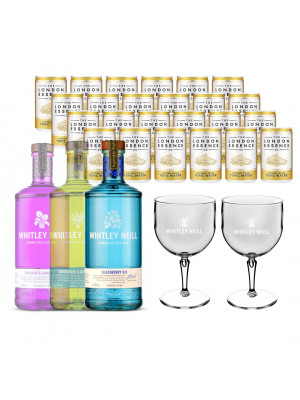 Whitley Neill Gin & Tonic Bundle