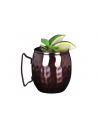 Copper Mug Barrel (hammered) 41.4cl 14.5oz