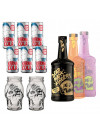 Dead Man's Fingers Rum and Karma Drinks Mixer Bundle
