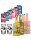 Dead Man's Fingers Rum 70cl and 6 x Tropical Mixer Bundle
