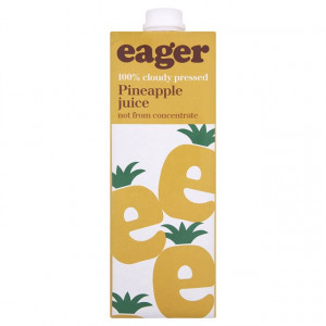 Eager Pineapple Juice 1L