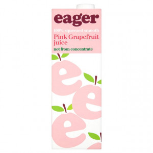 Eager Pink Grapefruit 8 x 1L