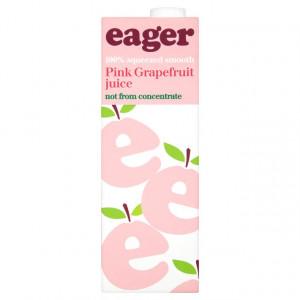 Eager Pink Grapefruit 8 x 1L