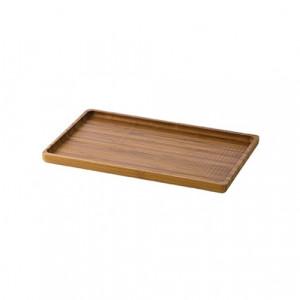 Senegal Bamboo Plate 21x15cm