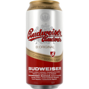 Budvar Beer 24 x 500ml Cans