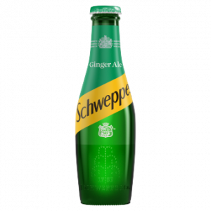 Schweppes Canada Dry Ginger Ale 24 x 200ml Bottles