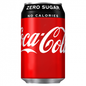 Coca Cola Zero 24 x 330ml Cans