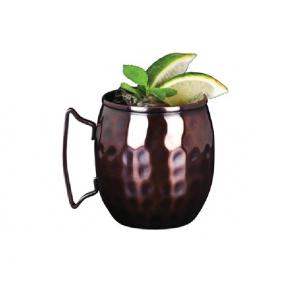 Copper Mug Barrel (hammered) 41.4cl 14.5oz