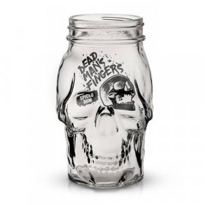 Skull Glass - Dead Man's Fingers Rum