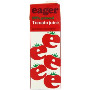 Eager Tomato Juice 8 x 1 Litre