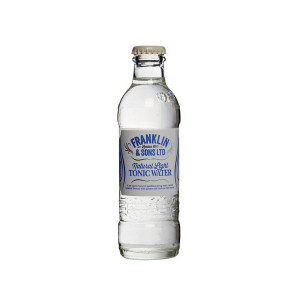 Franklin & Sons Light Tonic Water 24x200ml