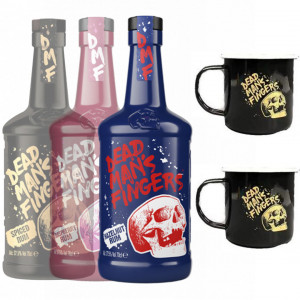Dead Man's Fingers Rum Hot Drink Bundle