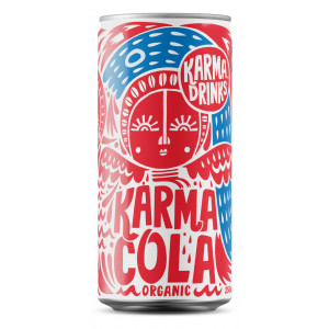 Karma Drinks - Karma Cola Organic Fairtrade Cans 24 x 250ml