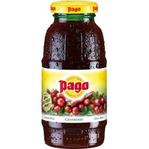 Pago Cranberry Juice 12x200ml