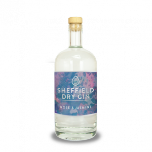 Sheffield Rose and Jasmine Gin 70cl