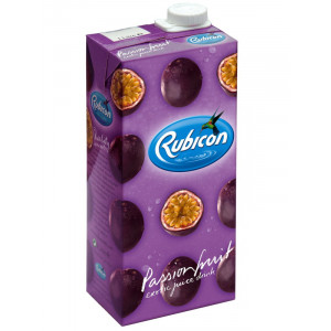 Rubicon Passion Juice Drink 1 Litre x 12