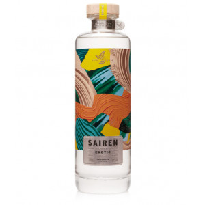 Sairen Clear Spiced Rum 'Exotic' 70cl