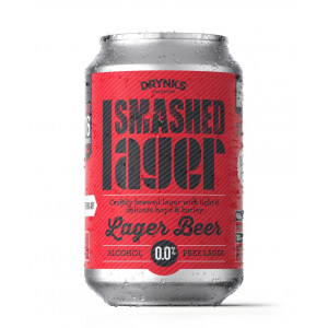 Smashed - Lager Beer - Alcohol Free 24 x 330ml Cans