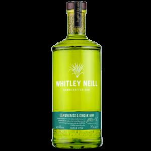 Whitley Neill Lemongrass and Ginger Gin 70cl