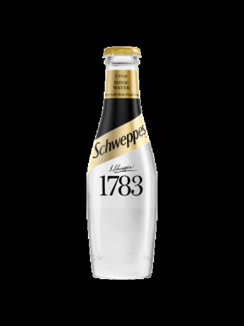 Schweppes 1783 Crisp Tonic Water 24 x 200ml
