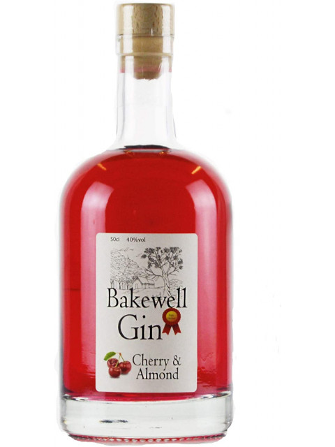 Bakewell Gin Cherry and Almond 50cl