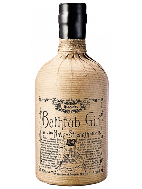 Bathtub Navy Strength GIn 70cl