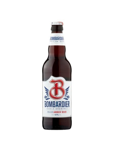 Bombardier Amber Beer 8 x 500ml