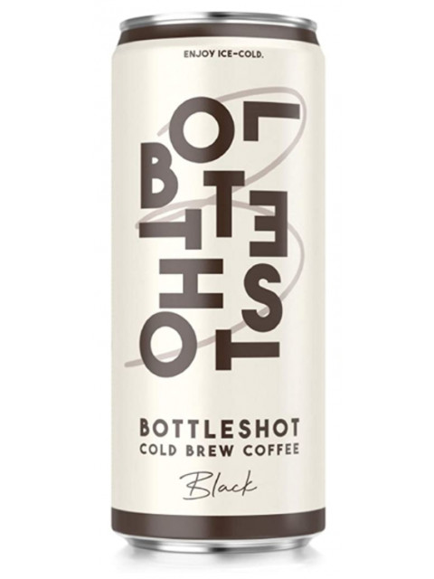 Bottleshot Cold Brew Coffee 250ml Can