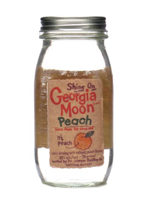 Georgia Moon Peach 35% 75cl