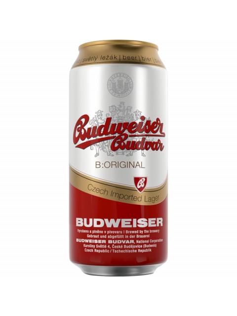 Budvar Beer 24 x 500ml Cans