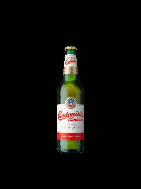 Budweiser Budvar Czech Lager 12 x 330ml Bottles