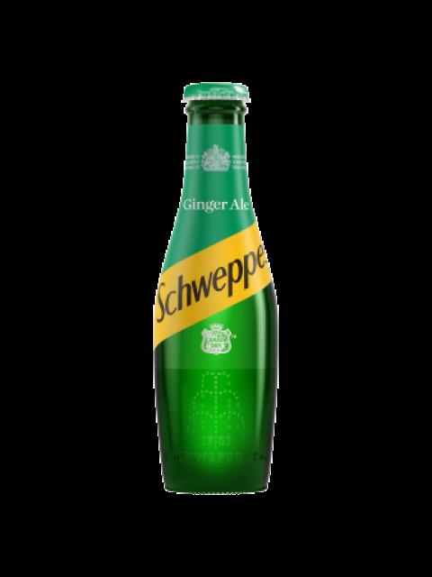 Schweppes Canada Dry Ginger Ale 24 x 200ml Bottles