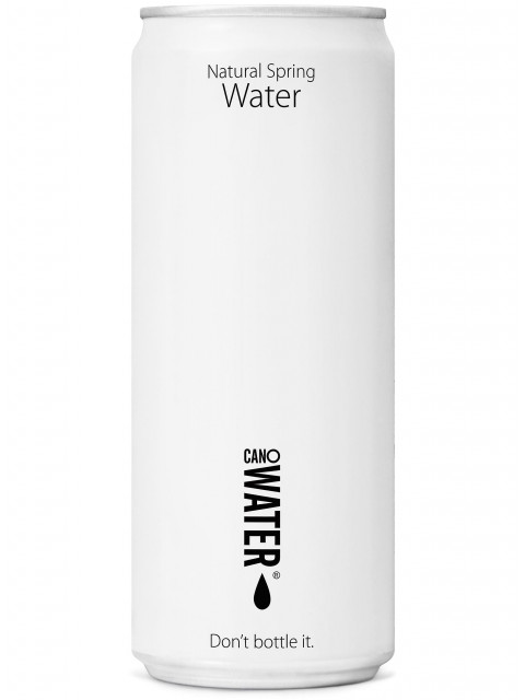 Canowater Still 24x330ml Resealable can