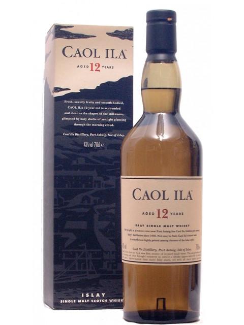 Caol Ila 12yo Scotch Whisky 70cl